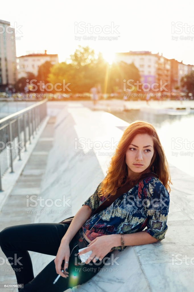 Time to think stock photo
