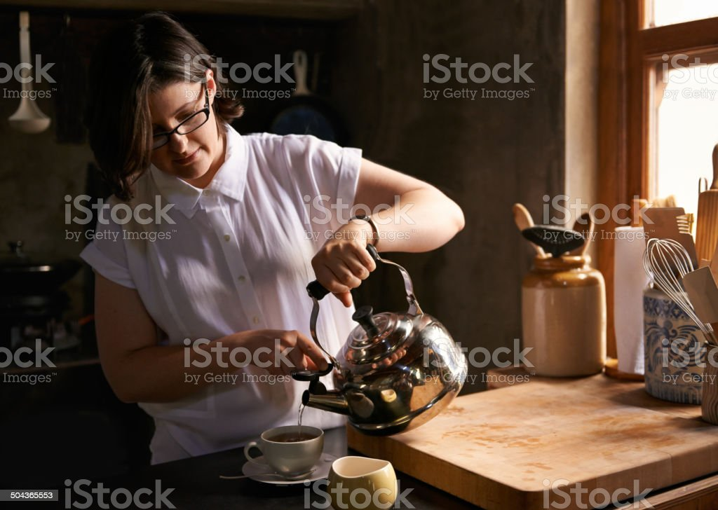 Time to unwind stock photo