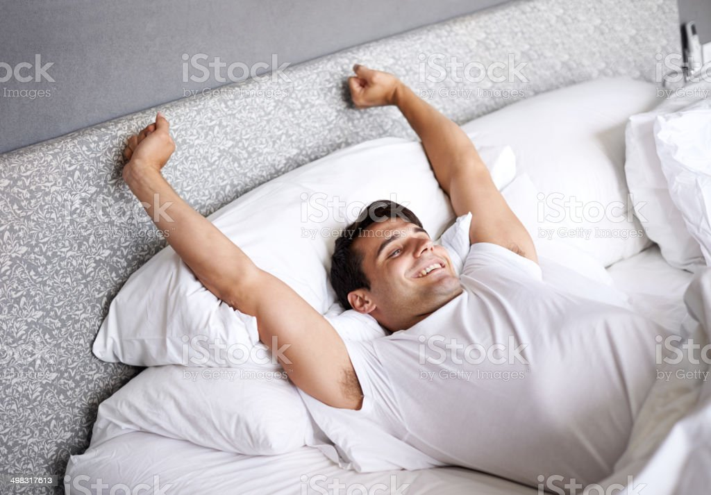 Time to wake up stock photo