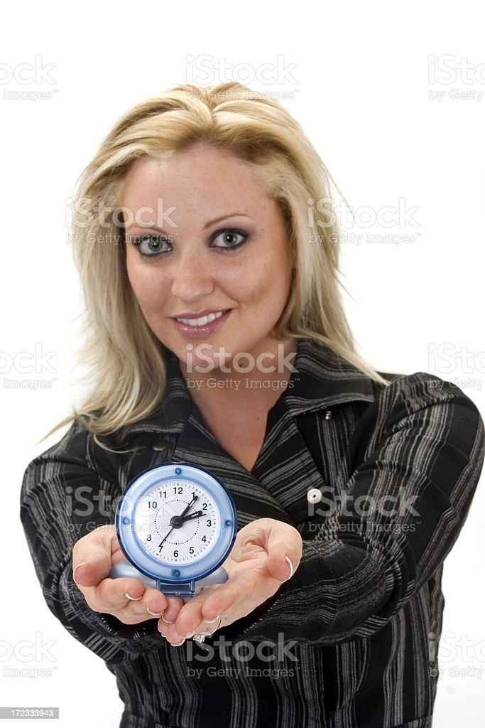 time to work stock photo