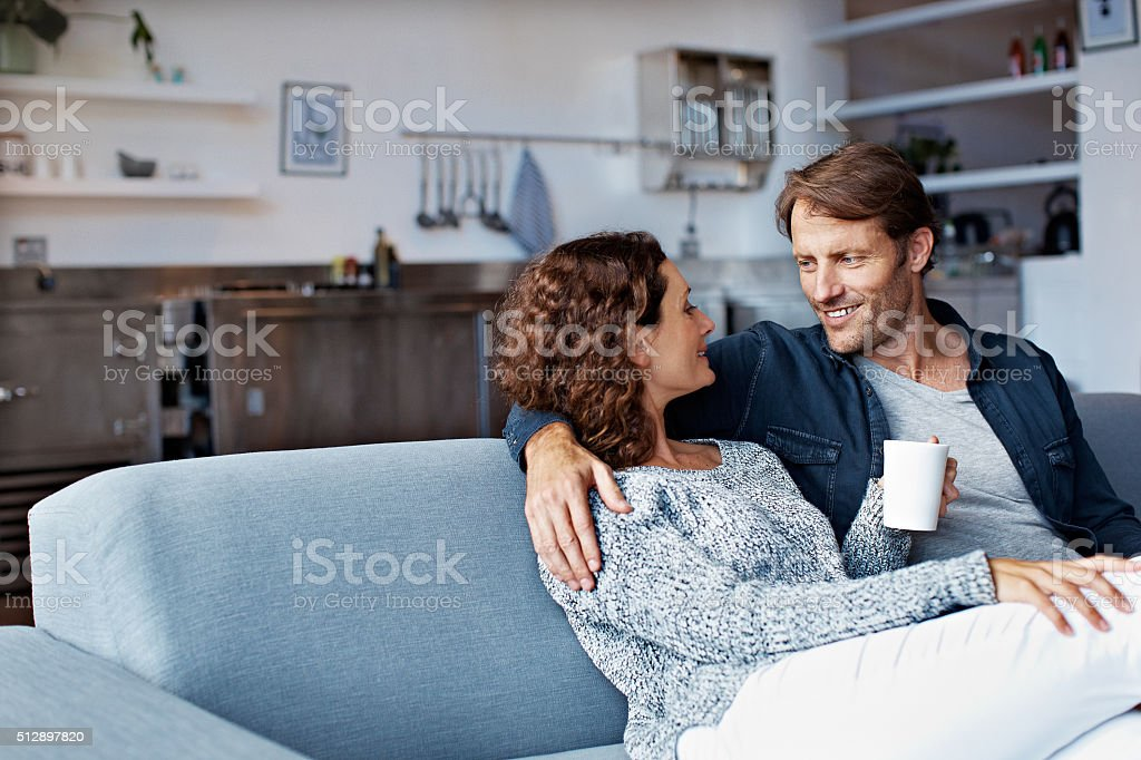 Time together is always time well spent stock photo