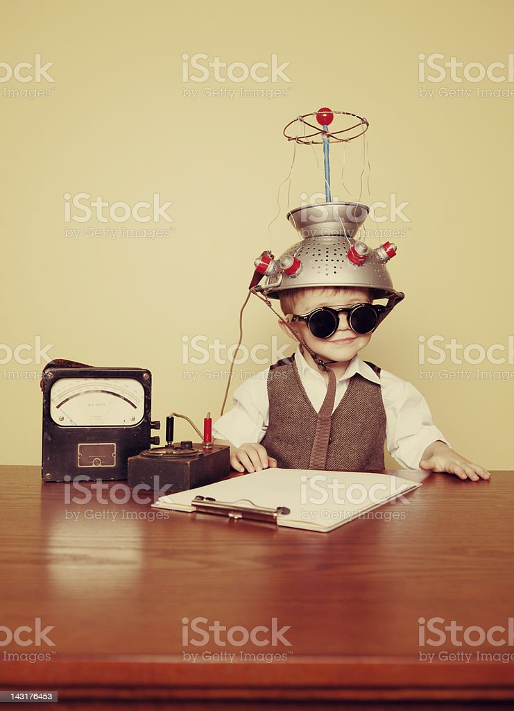 Time Traveler stock photo