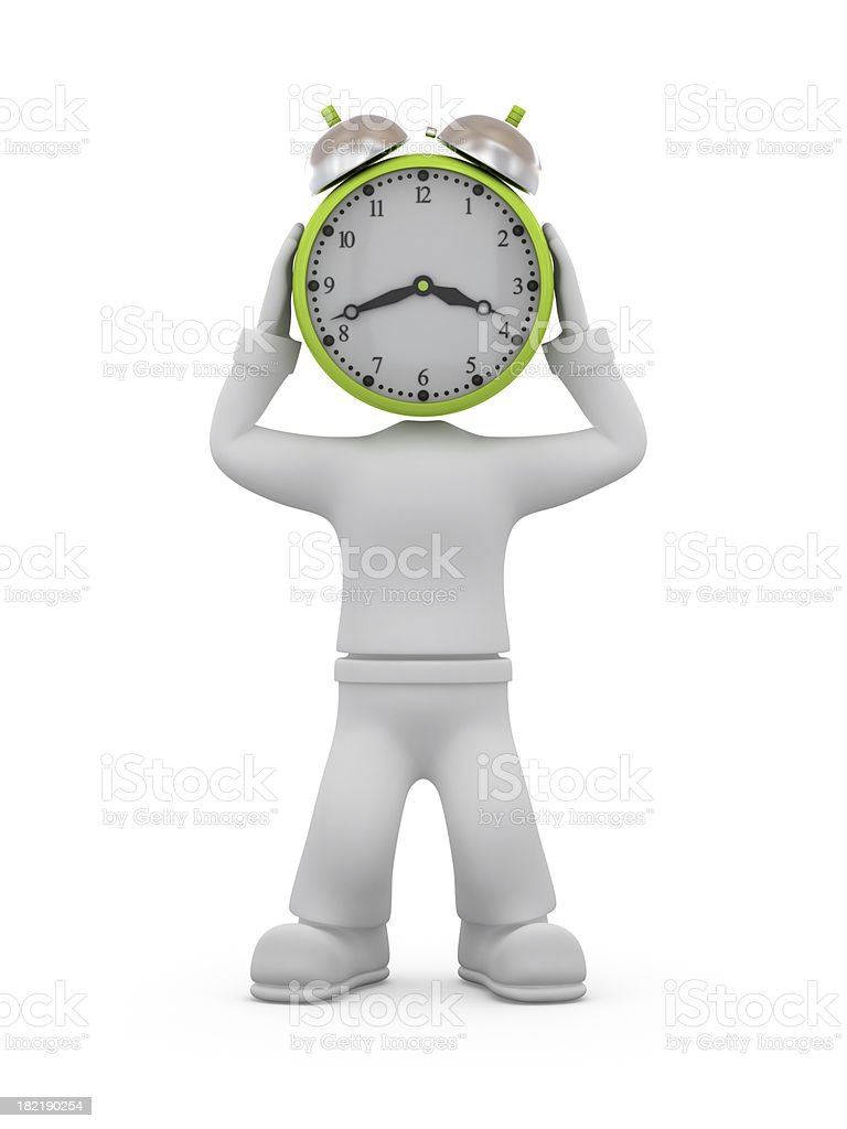 Time trouble. royalty-free stock photo
