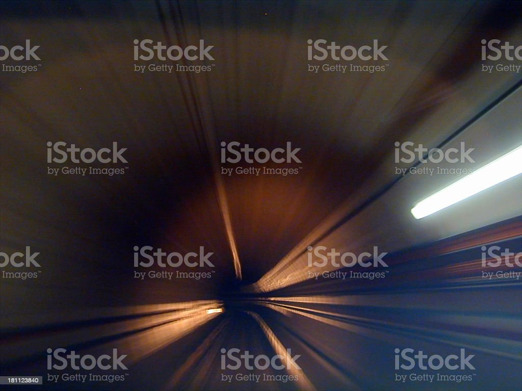 Time Tunnel 2 royalty-free stock photo