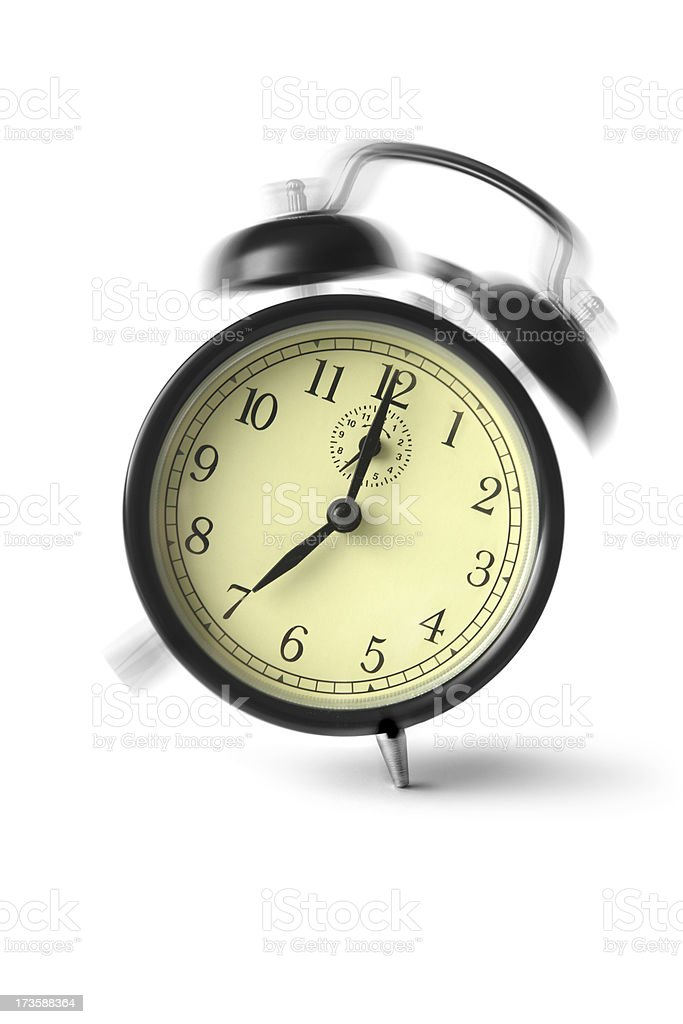Time: Wake Up royalty-free stock photo