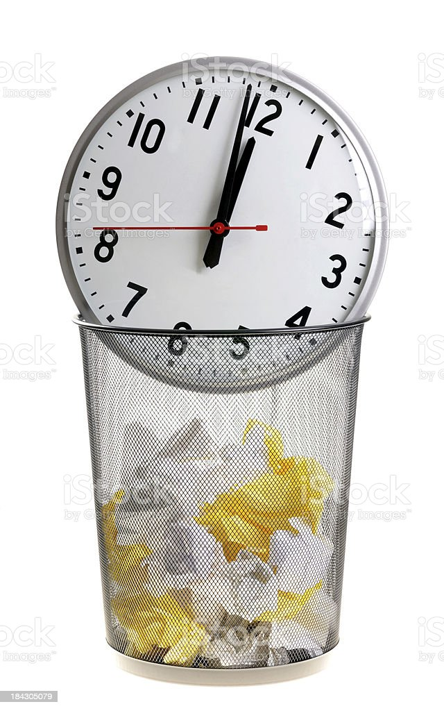 Time Wasted royalty-free stock photo