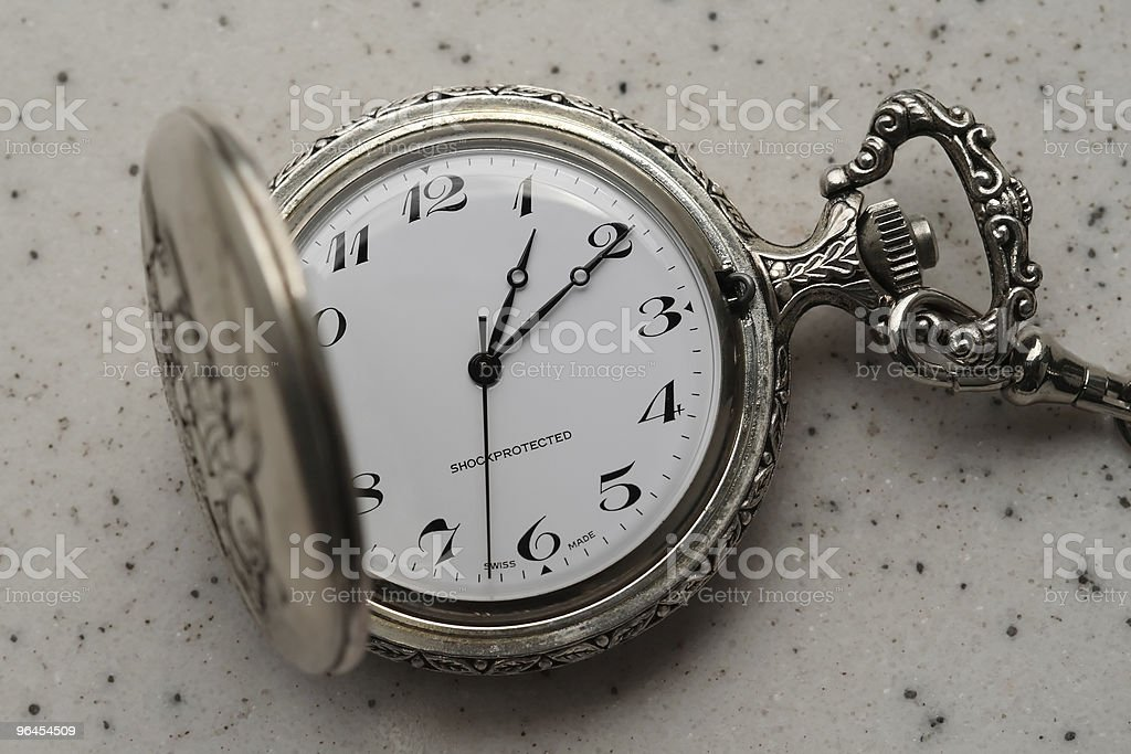 Time watcher stock photo