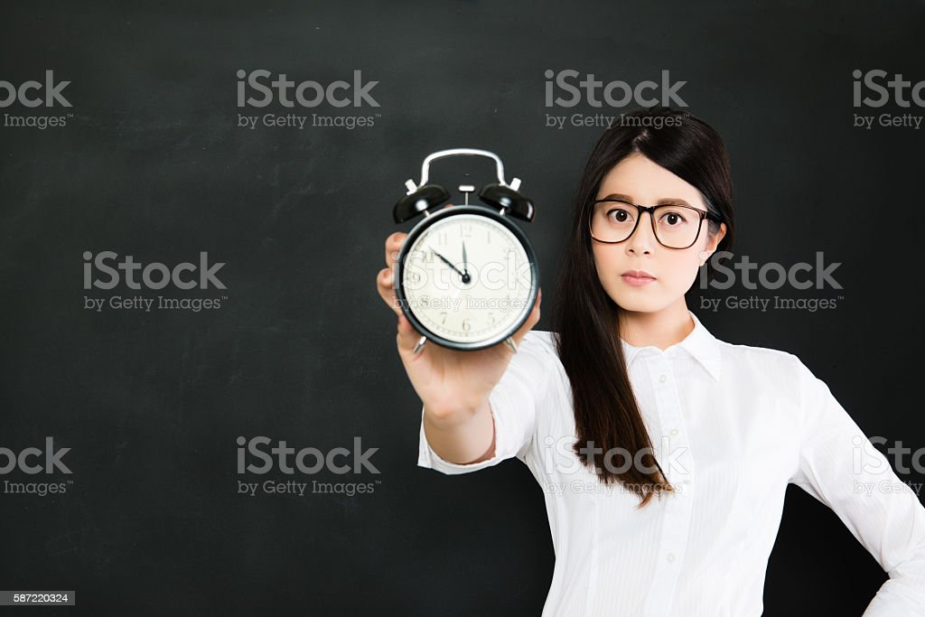 time will never wait for you, time is always running stock photo