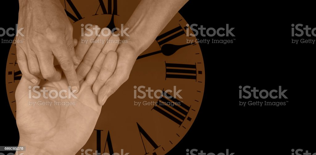 Time Will Tell stock photo