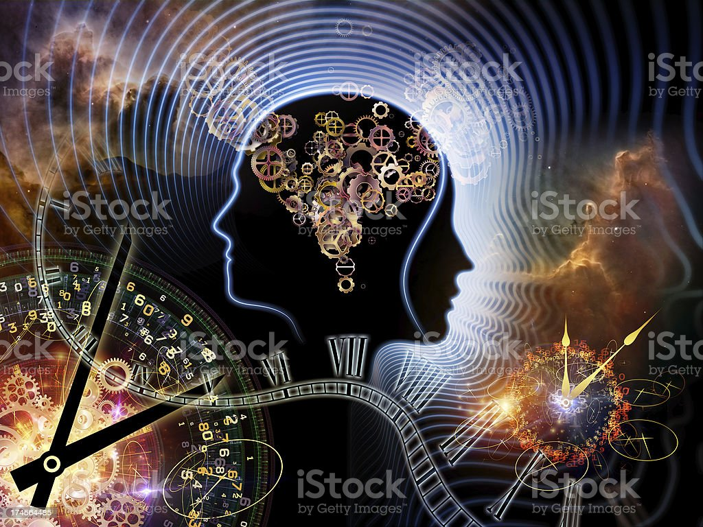 Times of Human Mind royalty-free stock photo