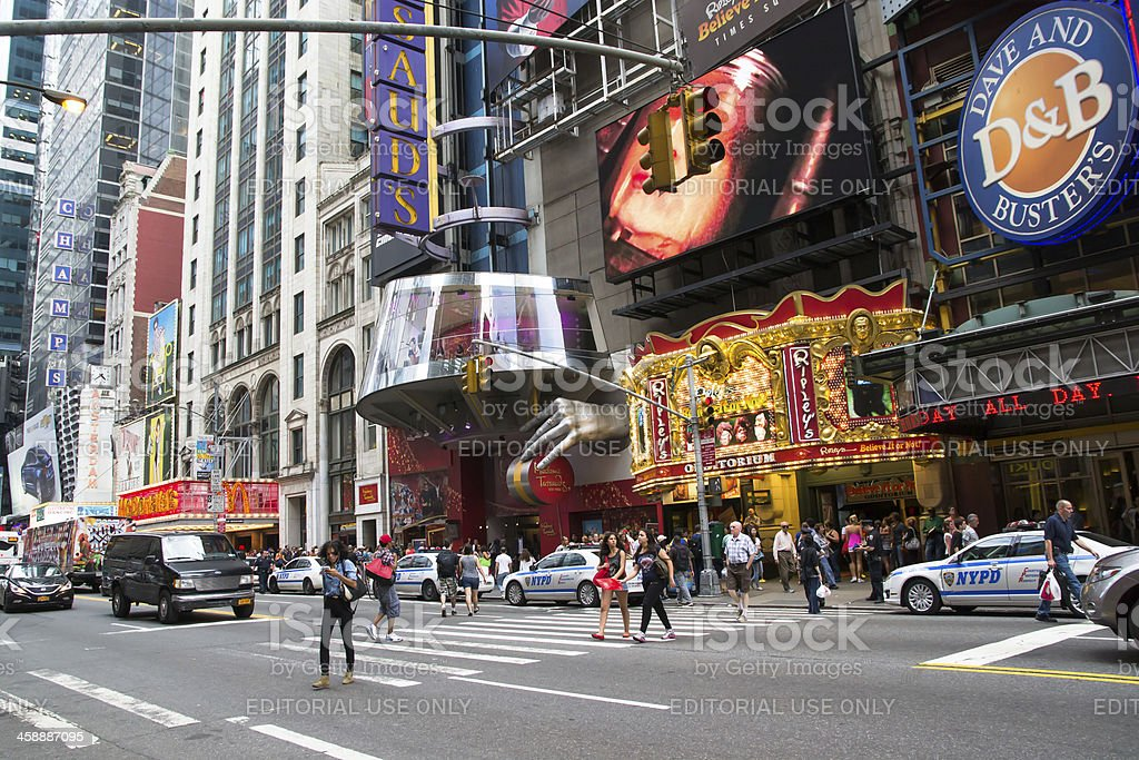 times square daytime royalty-free stock photo