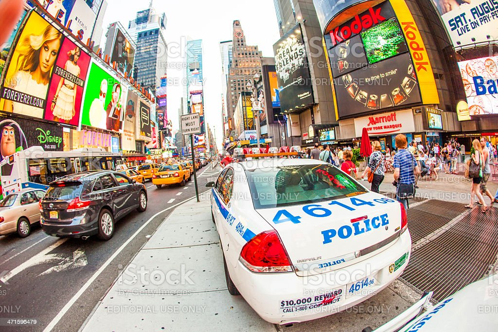 times square in New York royalty-free stock photo