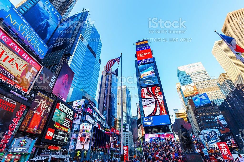 Times Square, Manhattan, NYC stock photo