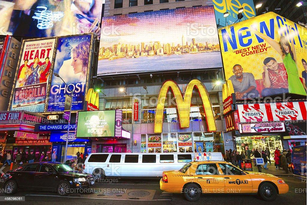 Times Square, New York City, USA. royalty-free stock photo