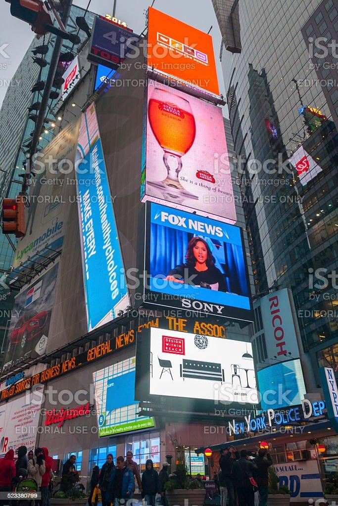 Times Square stock photo