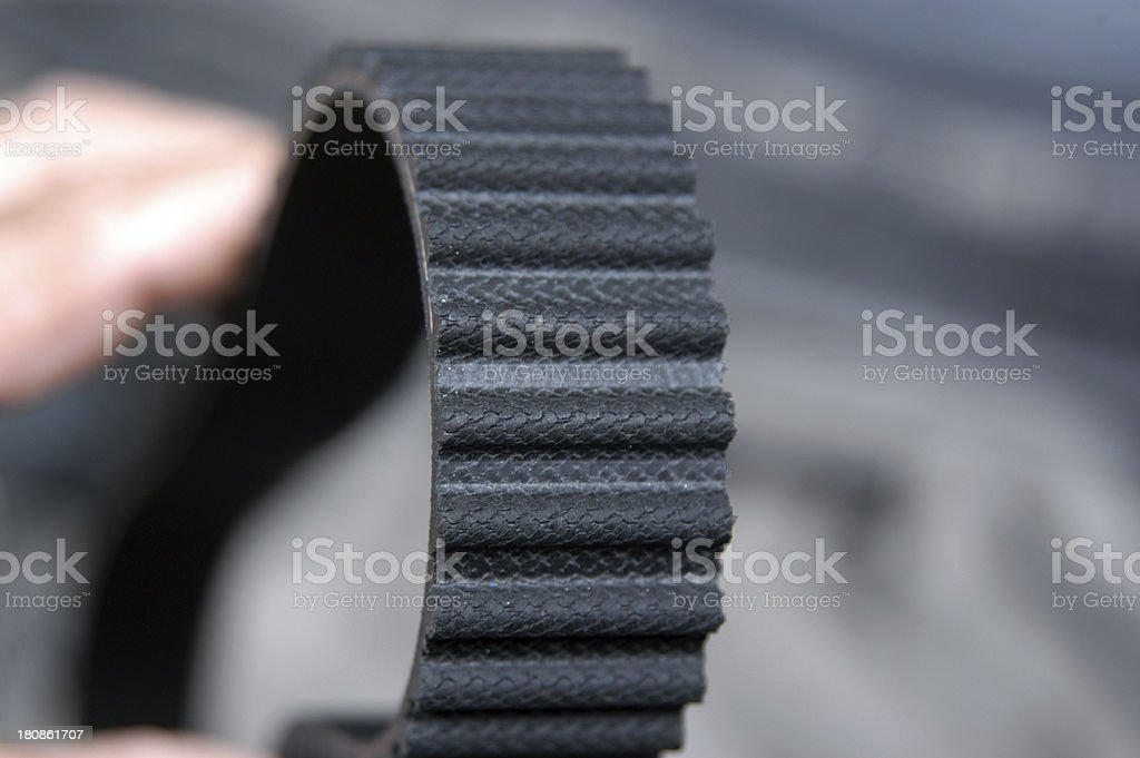 timing belt royalty-free stock photo
