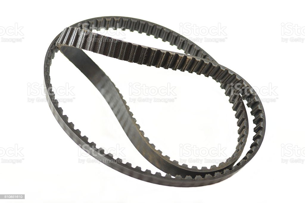 Timing belt stock photo