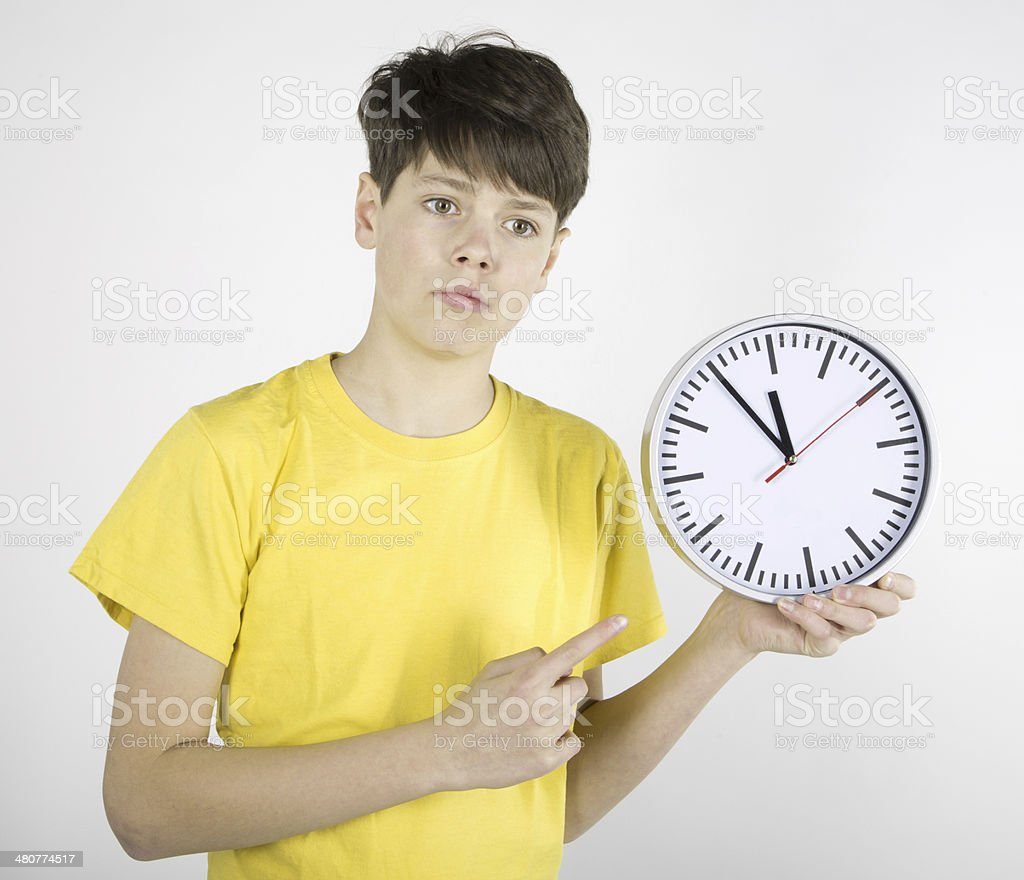 Timing stock photo