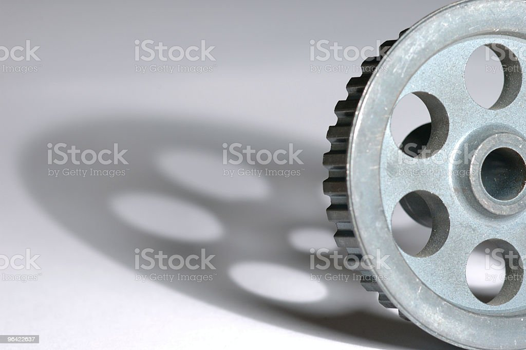 Timing Pulley royalty-free stock photo