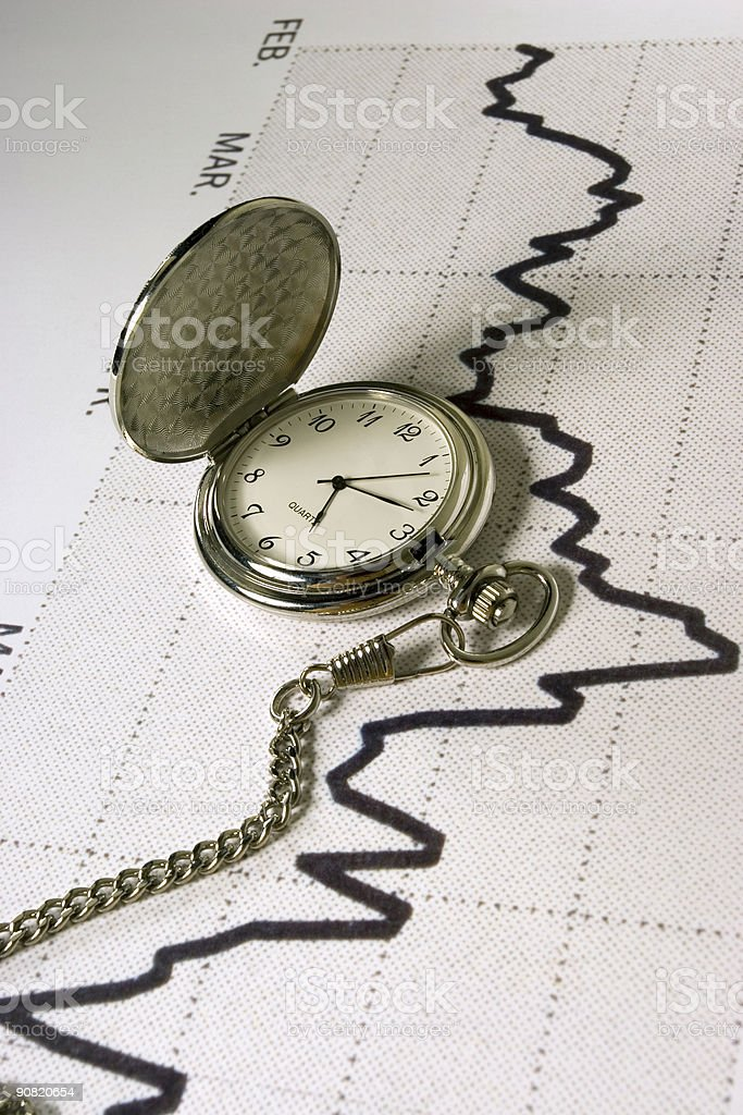 Timing The Market royalty-free stock photo