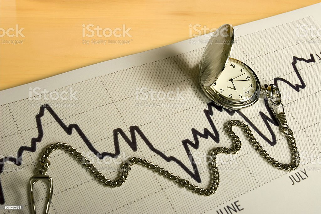 Timing The Trend royalty-free stock photo