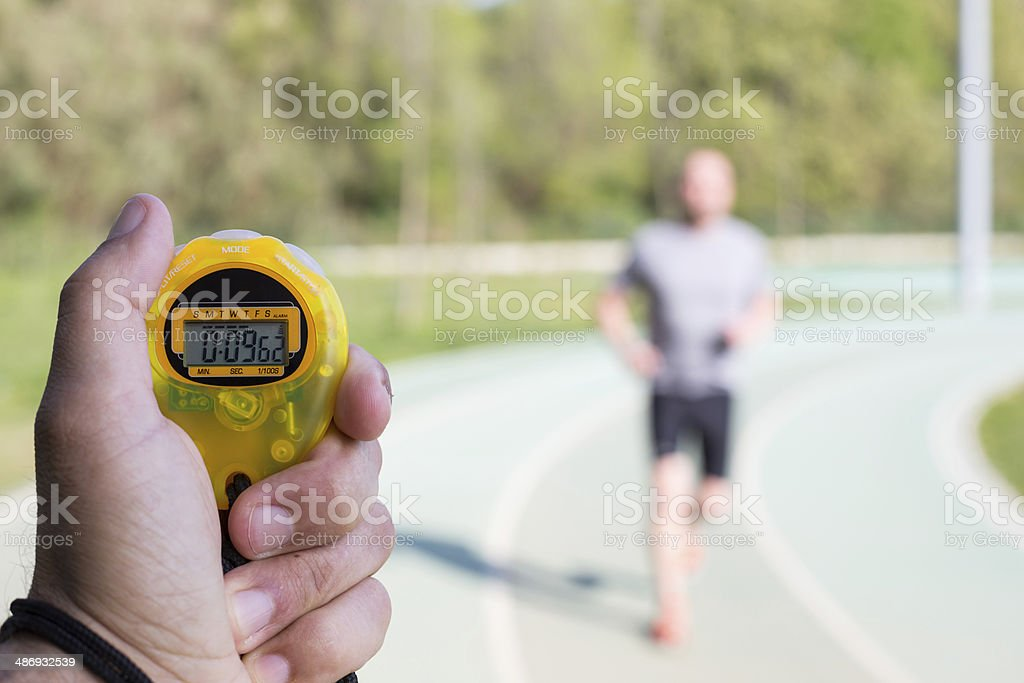 Timing times stock photo