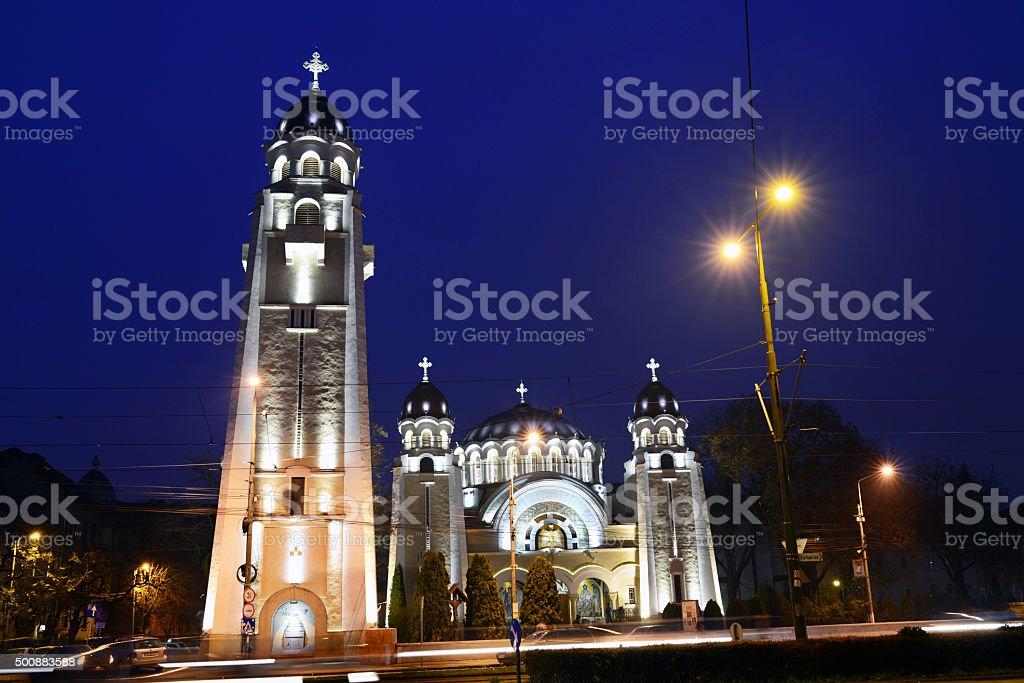 Timisoara City Sinaia Church stock photo