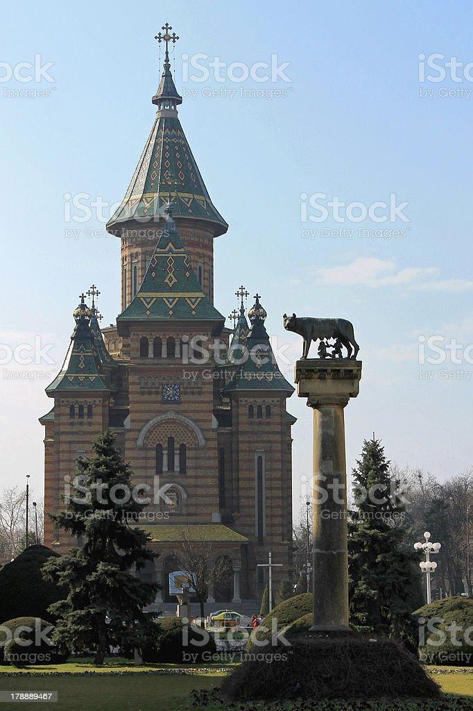 Timisoara royalty-free stock photo