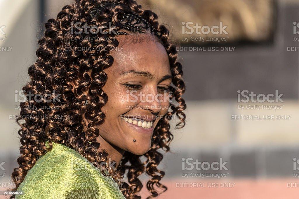 Timkat celebration in Ethiopia stock photo