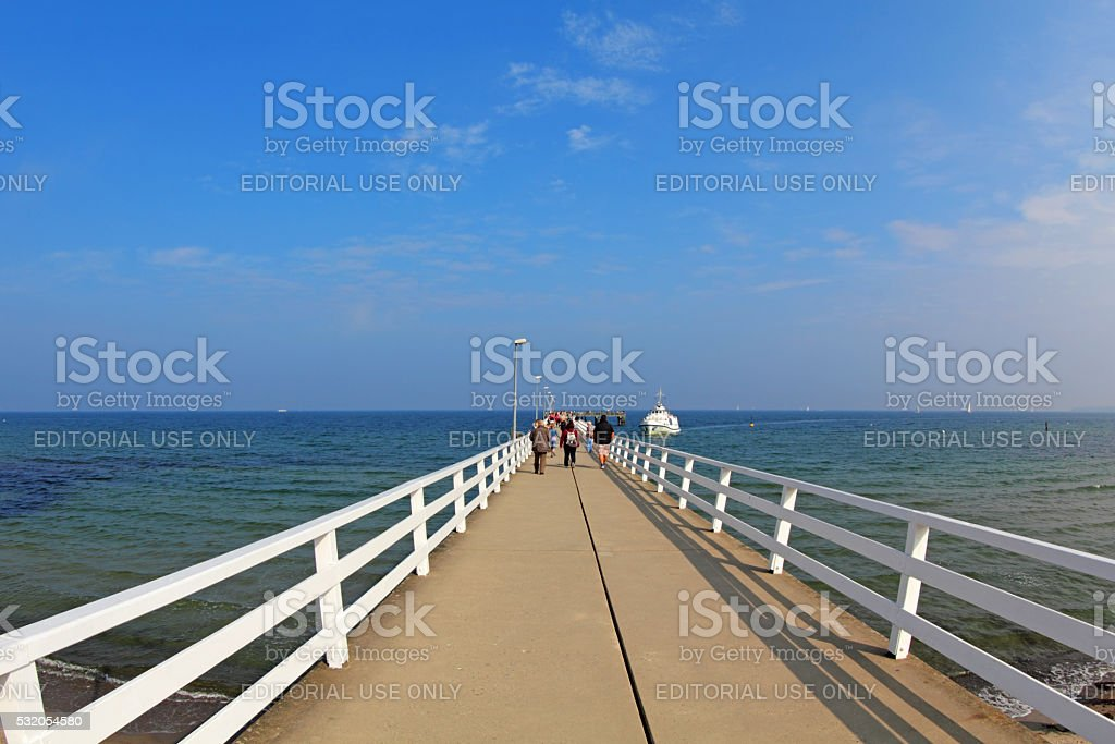 Timmendorfer Strand, North Germany stock photo