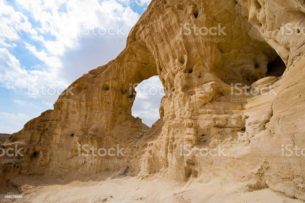 Timna park stock photo