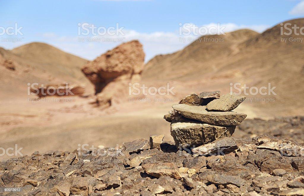Timna stock photo