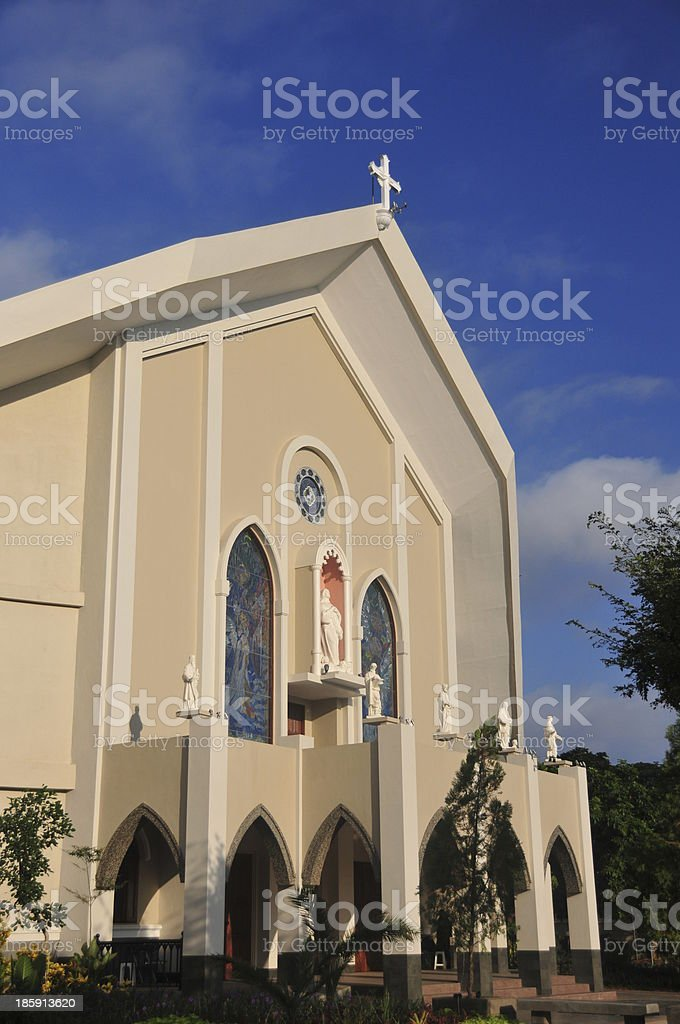 Timor, Dili, Immaculate Conception Cathedral stock photo