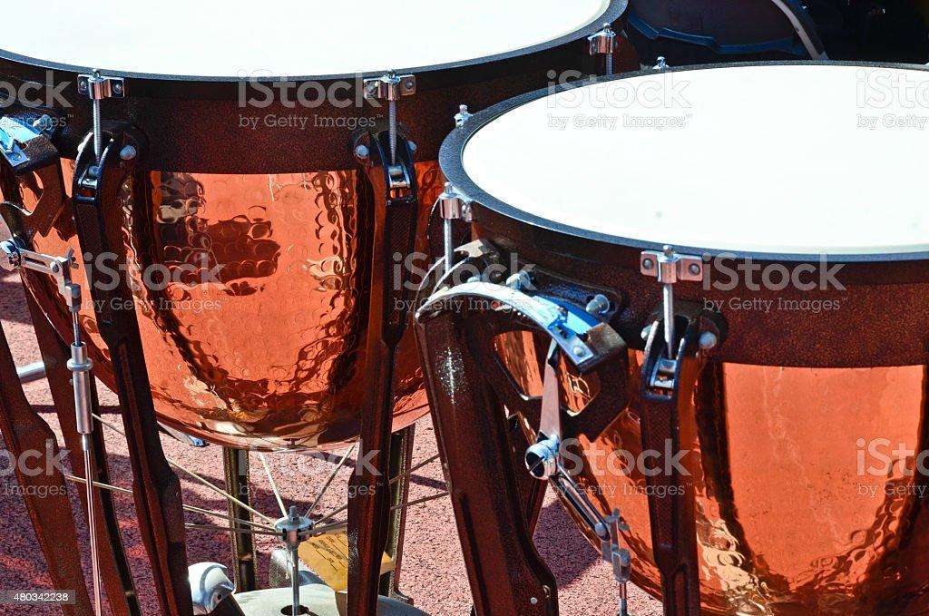 Timpanis stock photo