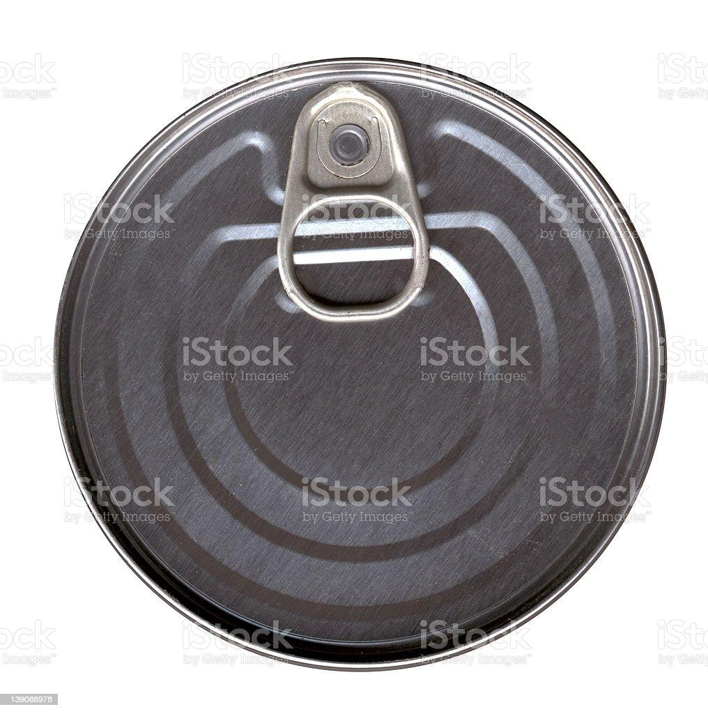 Tin can royalty-free stock photo