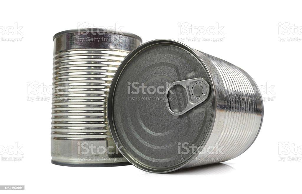 Tin can stock photo
