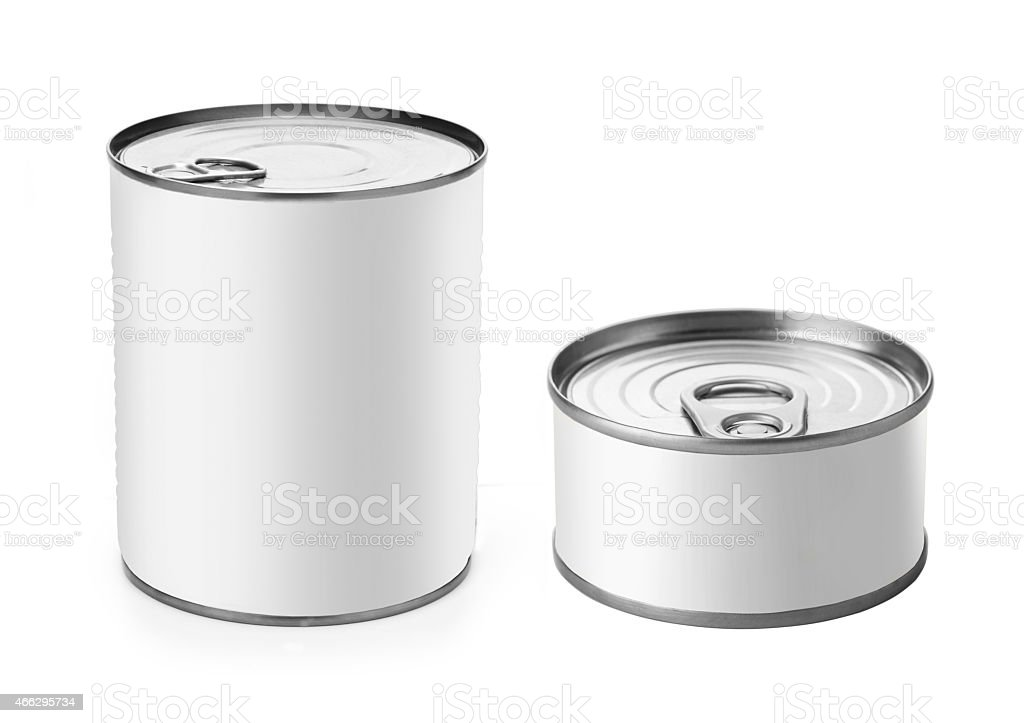 Tin Can stock photo