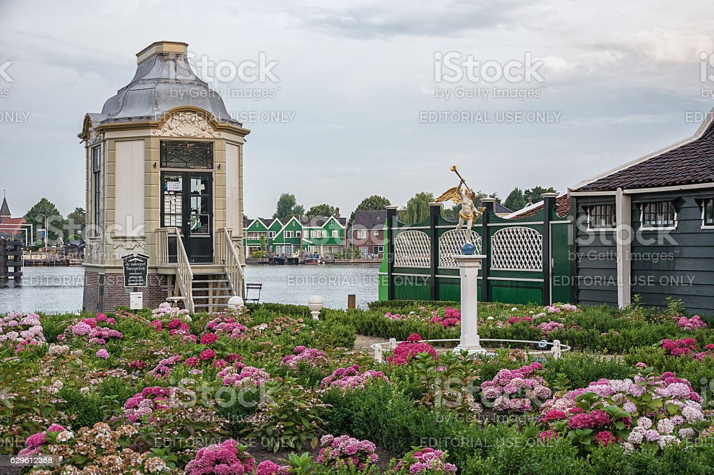 Tin foundry De Tinkoepel on the Zaanse Schans is one stock photo