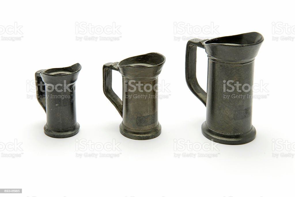 Tin measure royalty-free stock photo
