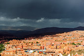 Tinehir city, Moody Sky, Morocco,North Africa