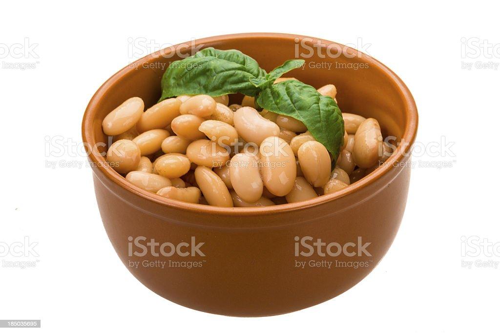 Tinned bean royalty-free stock photo