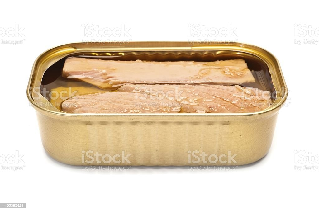 Tinned Fish royalty-free stock photo