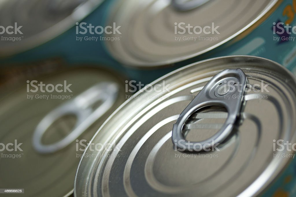 Tinned Food royalty-free stock photo