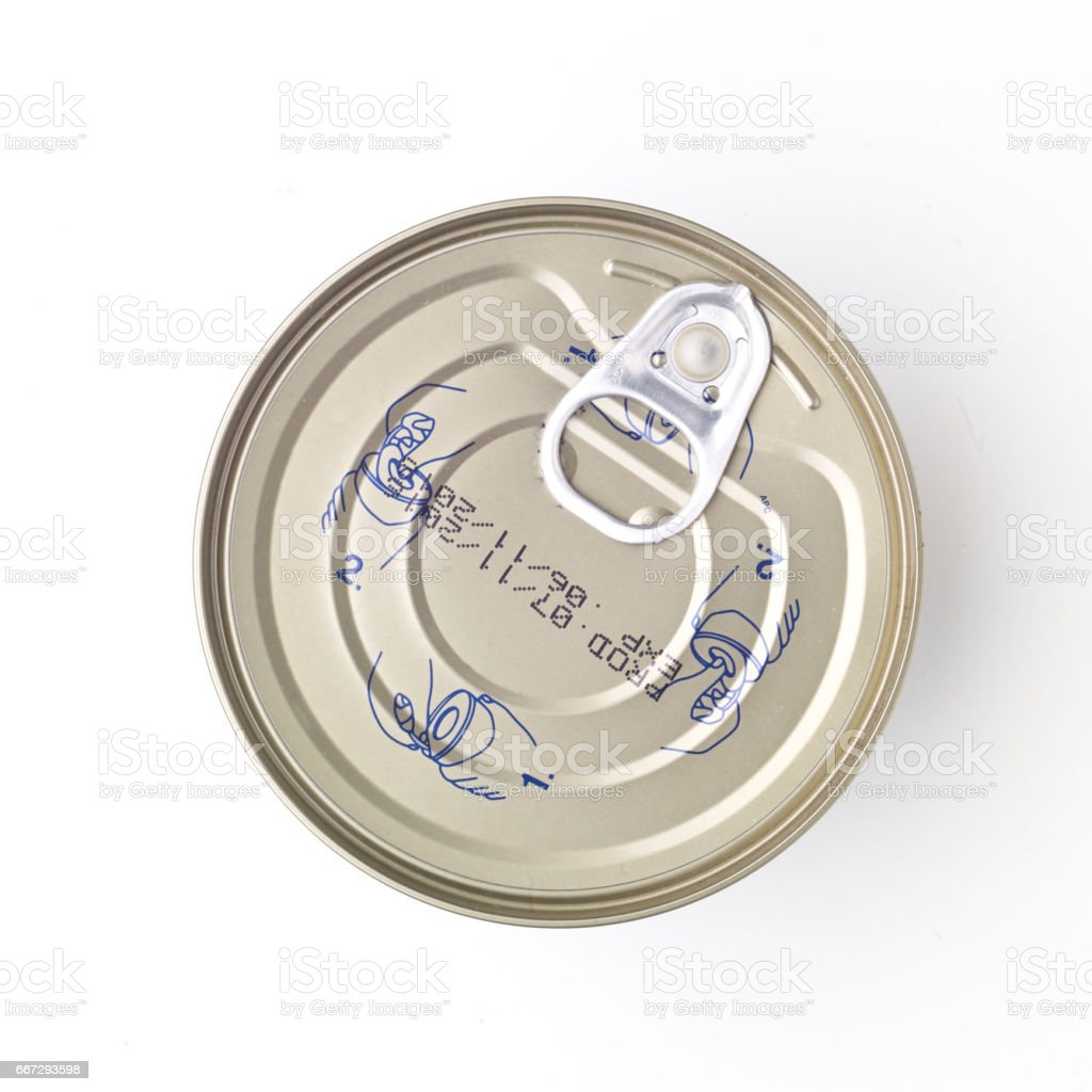 Tinned food stock photo
