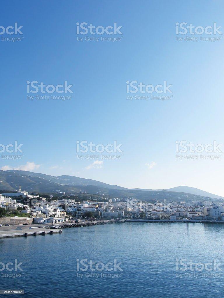 Tinos island stock photo