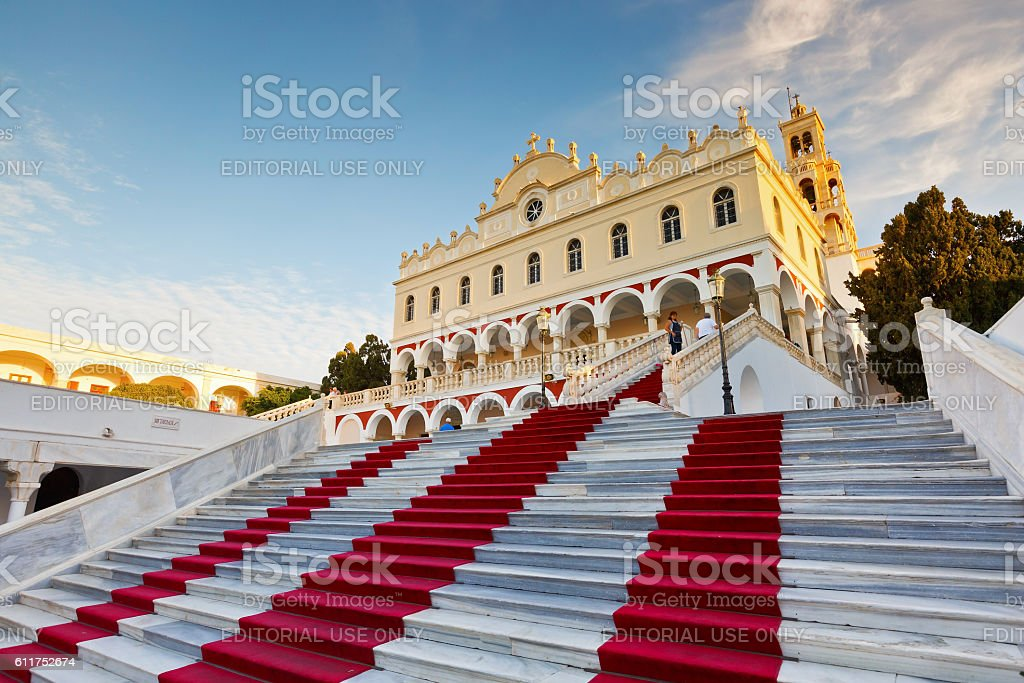 Tinos island. stock photo