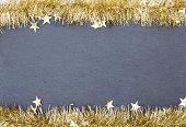 Tinsel Christmas decoration