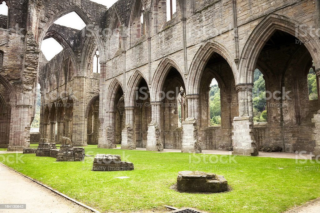 Tintern Abbey royalty-free stock photo