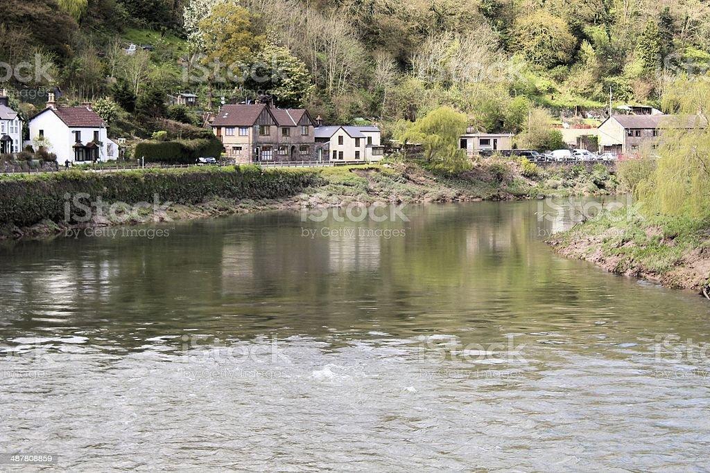 Tintern village stock photo