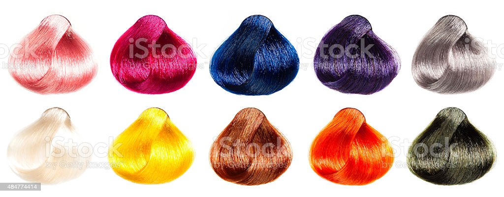 Tints set for beauty industry. stock photo